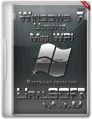 Windows 7 x64 Ultimate UralSOFT & MiniWPI v.6.5.12