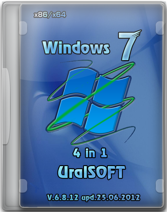 Windows 7 UralSOFT 4 in 1 v.6.8.12